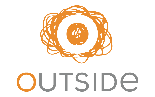 Outside - logo